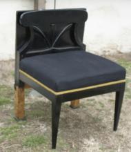 late Art Deco period Mid Century vanity chair