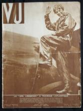 1932 French periodical VU featuring Amelia Earhart