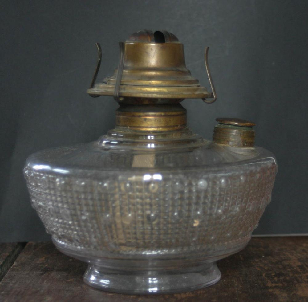 Antique Victorian Eastlake Wall Mount Oil Lamp