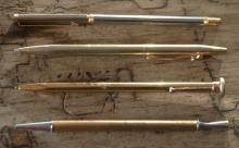 set lot of 4 vintage or antique pens
