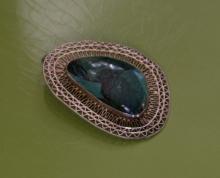 estate jewelry: vintage pin brooch pendant