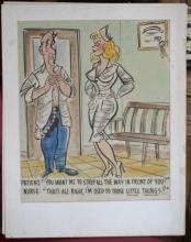 original cartoon illustration, attributed to Bill Wenzel