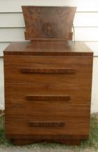 vintage antique Art Deco period nightstand