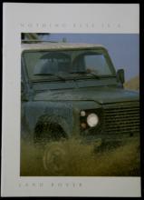 vintage British Land Rover sales car catalog