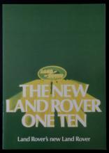 vintage British Land Rover one-ten car sales catalog