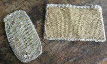pair of vintage woven ladies pieces