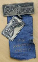 1912 early aviation medal and ribbon