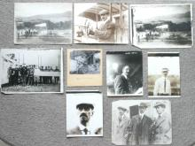 set lot of 9 original Glenn Curtiss aviation airplane photos