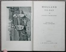 vintage 1st first edition of Holland Today book