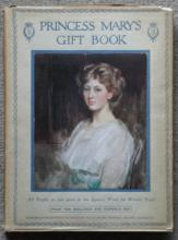 antique 1916 Princess Mary's Gift Book with rare dust jacket