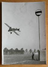 original 1913 airplane aviation aviator photograph