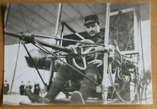 original ca. 1911 airplane aviation aviator photograph