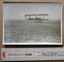 rare original ca. 1910 photograph of an airplane
