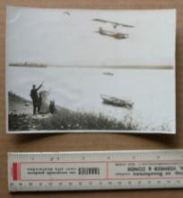 rare original 1911 aviation photograph