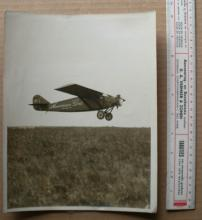 rare original 1927 large aviation photograph