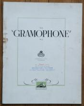 rare vintage catalog for RCA gramophones