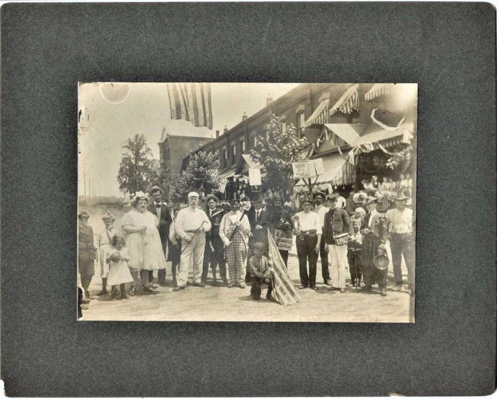 ca. 1910 non PC cabinet photograph