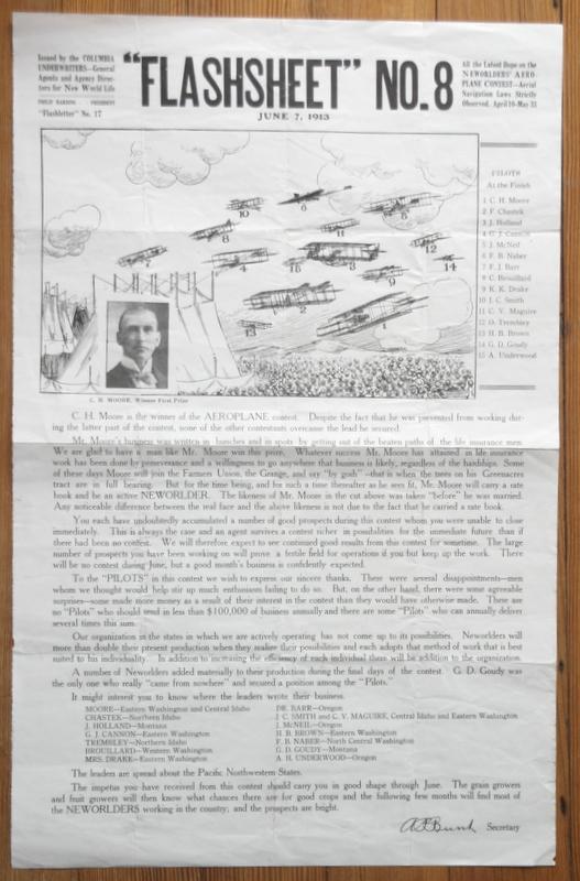 antique Insurance Company flashsheet