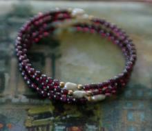 vintage estate jewelry: spring loaded wire bracelet