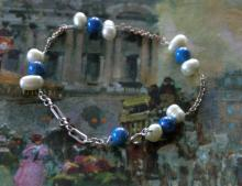 vintage estate jewelry: silver bracelet