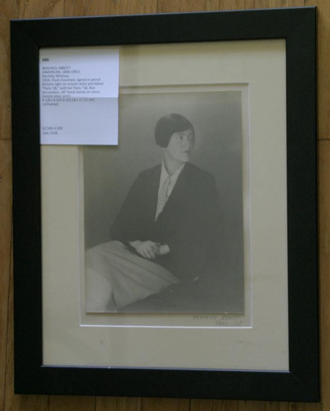 original 1920s photograph Berenice Abbott