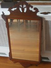 antique Chippendale wall mirror