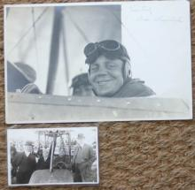 rare 1916 aviation famous aviator photographs