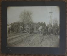 rare antique cabinet photograph