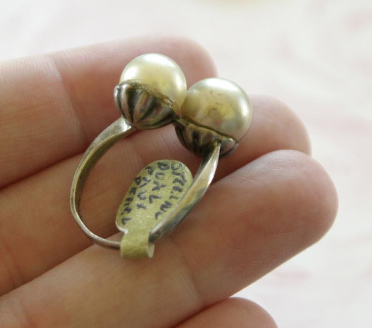 estate jewelry vintage sterling silver ring