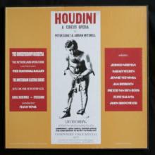 RARE 3 LP box set of Harry Houdini Dutch opera house 1977