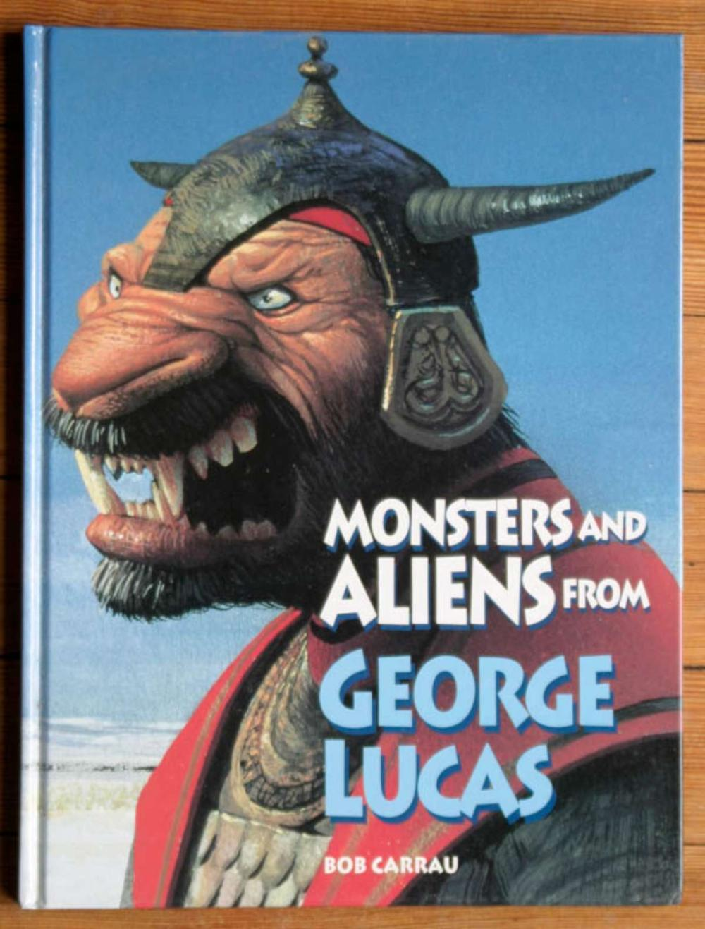 vintage book Monsters and Aliens from George Lucas
