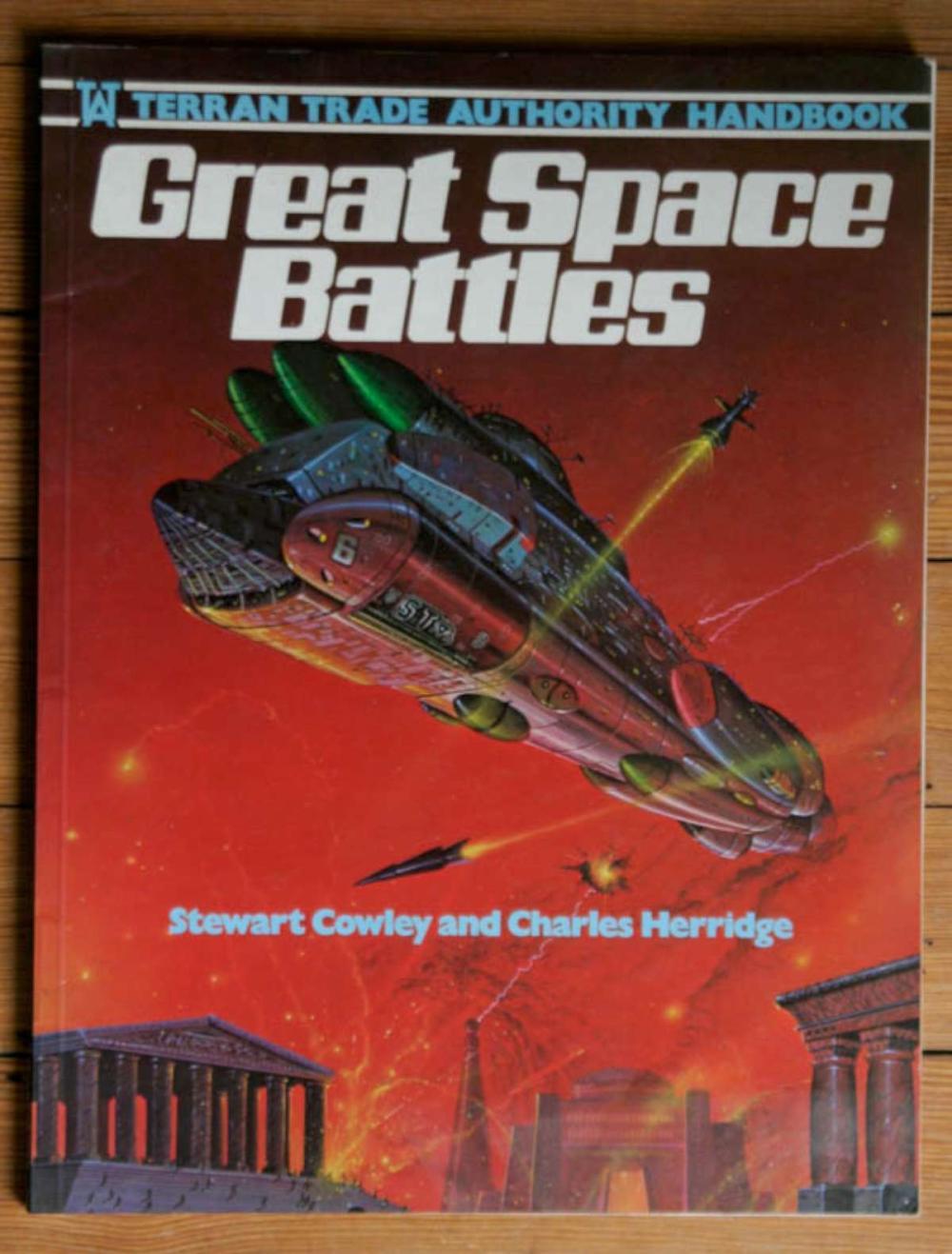 vintage Great Space Battles book