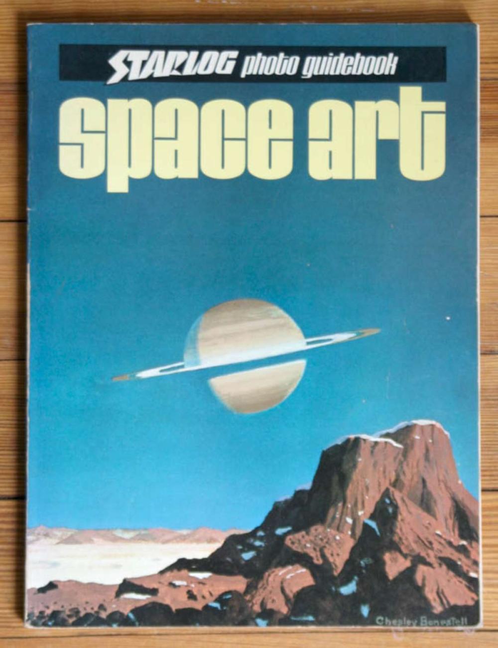 vintage Space Art book