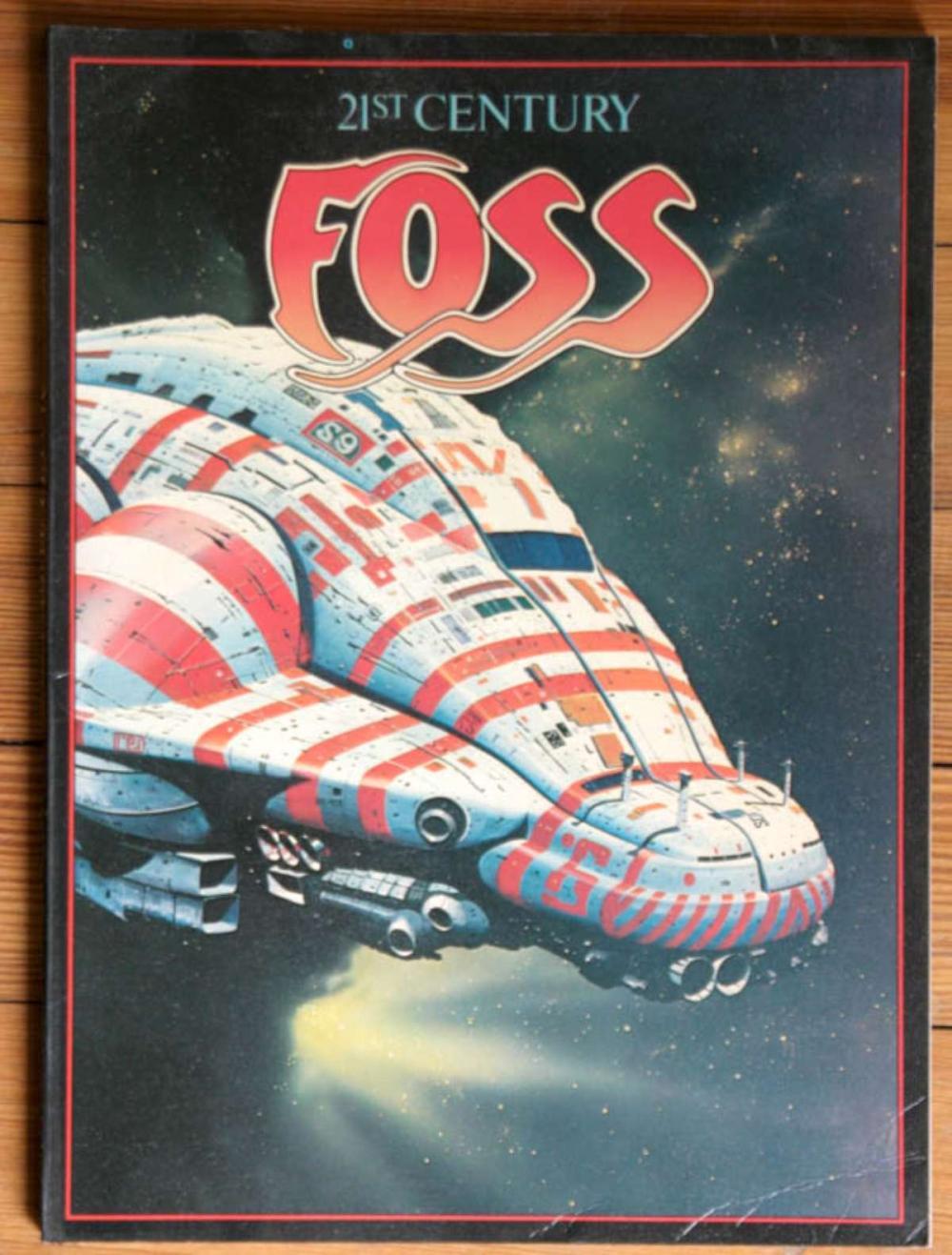 vintage 21st Century Foss science fiction book