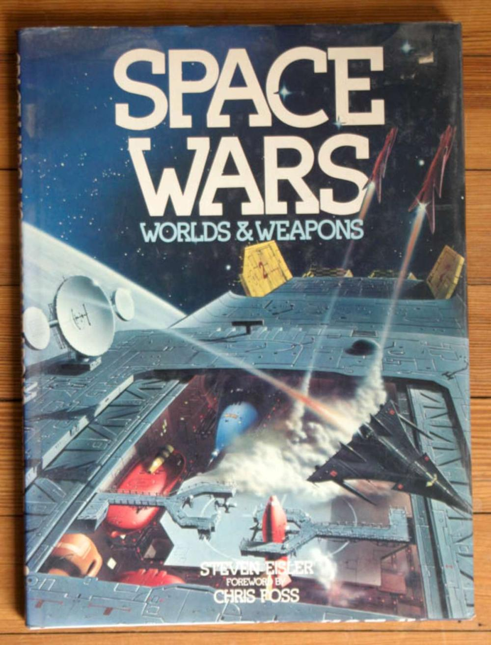 vintage Space Wars Worlds and Weapons book
