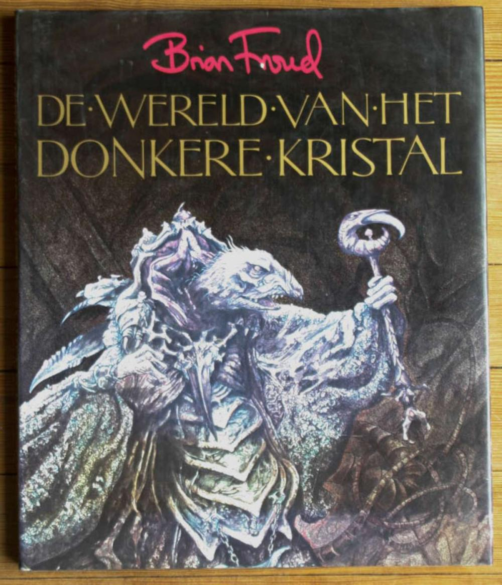 vintage Dutch The Dark Crystal book