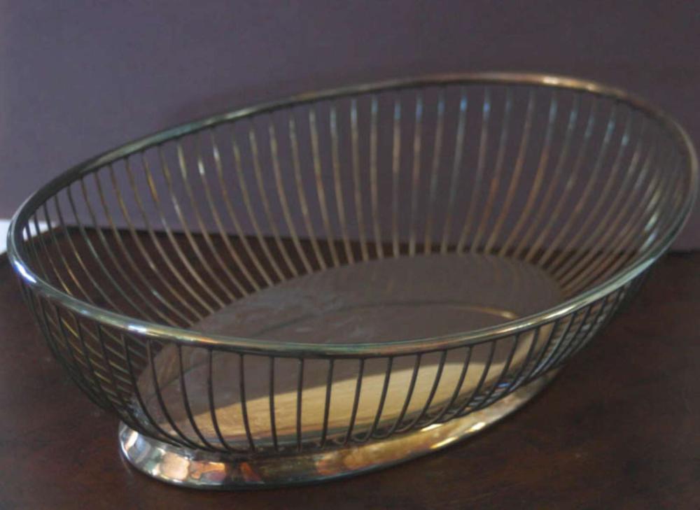 vintage or antique Gorham silver plated bowl
