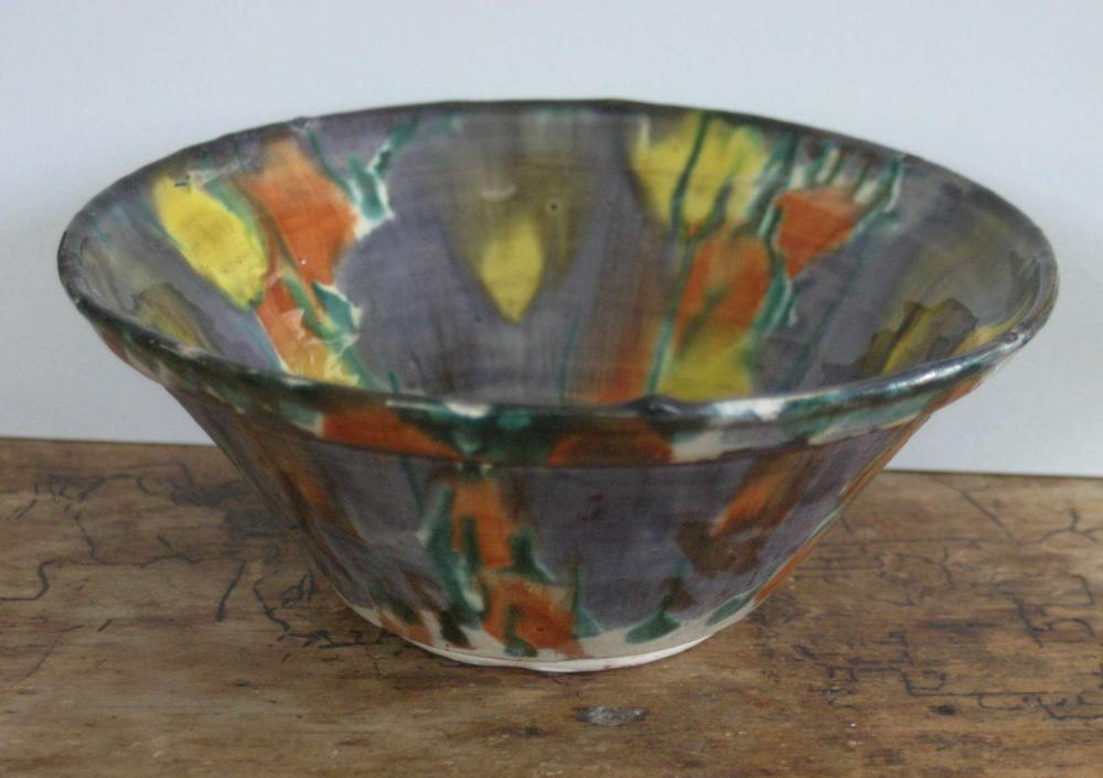 Mid Century Modern pottery or clay dish or bowl