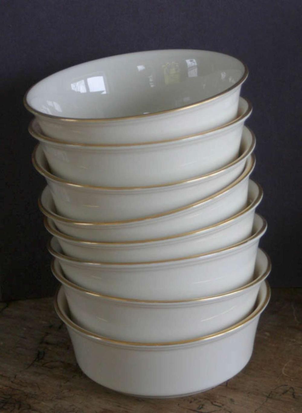 vintage Lenox porcelain bowls