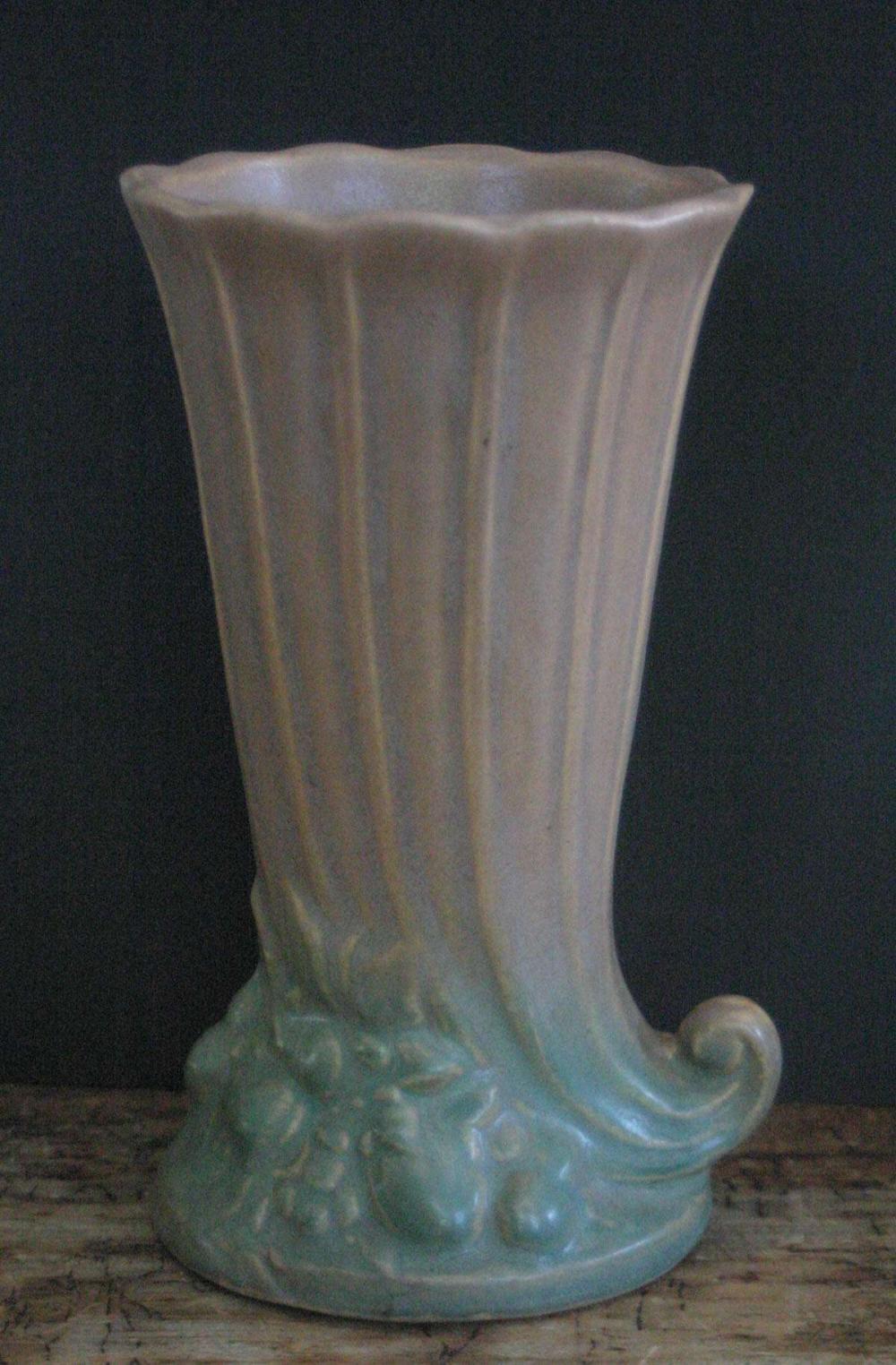 vintage or antique pottery vase