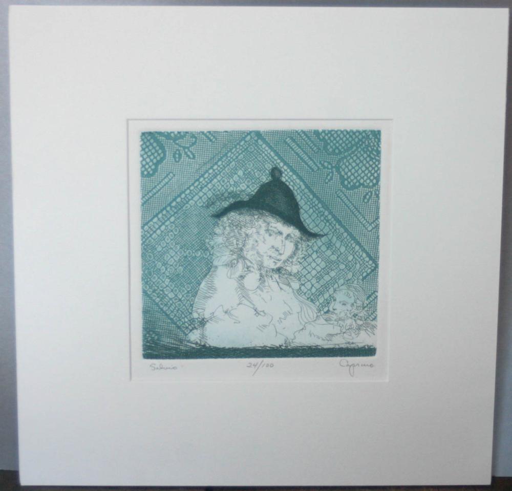 Vincent Capraro original numbered etching