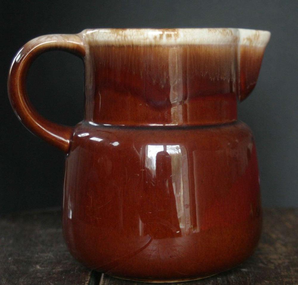 vintage McCoy stoneware pitcher