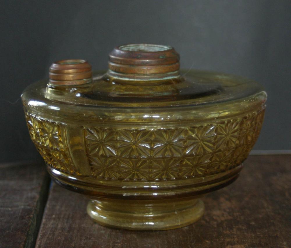 antique oil or kerosene lamp part