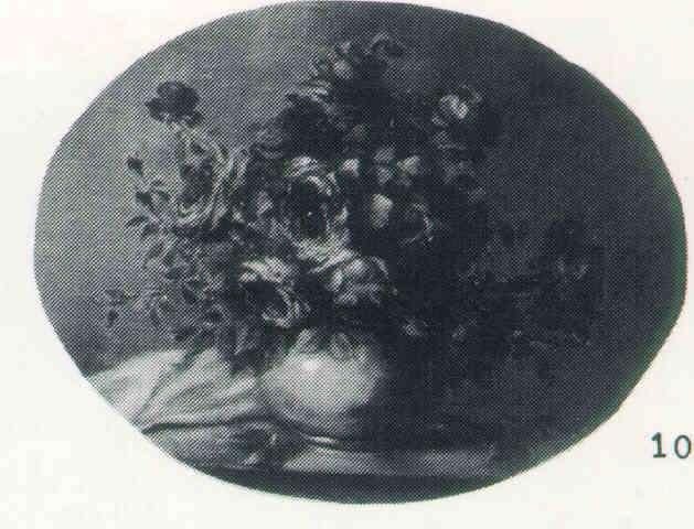 RITTA BOEMM (HUNG 1868-1948) Still Life of Roses, o/b, oval 24 x 30, s, B2