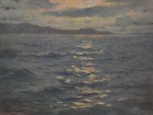 Mato Celestin Medovic (1857-1920) Moonlight