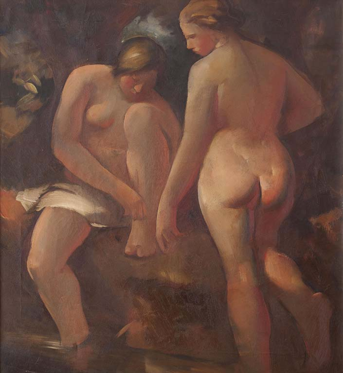 Vladimir Becić (1886. – 1954.): Two Nudes