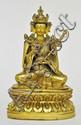 A Sino-Tibetan Gilt Bronze Padmasambhava