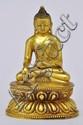 A Very Rare GOLD Sino-Tibetan Buddha