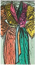 Jim Dine, Bath Robe P/P, Woodcut