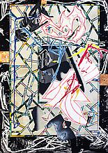 Frank Stella, The Counterpane (P.P.1), Lithography
